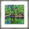 Cypress Coast Framed Print