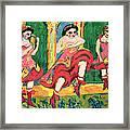 Czardas Dancers, 1908-20 Framed Print