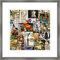 Dada Movement 1916  To 1922 Framed Print