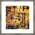 Dads Tools Framed Print