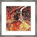 Dance Of Colors Framed Print