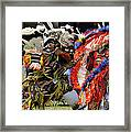 Dance To The Beat Of The Drum Framed Print