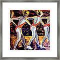 Dancing Girls Framed Print