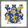 Daniel Coat Of Arms Irish Framed Print