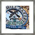 Danish Mill Bakery In Solvang California Framed Print