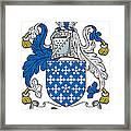 Darcy Coat Of Arms II Irish Framed Print