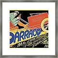 Darracq Suresnes France Framed Print