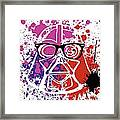 Darth Vader Corrective Lenses Framed Print