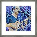 Dave Matthews Pop-op Series Framed Print