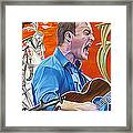 Dave Matthews The Last Stop Framed Print by Joshua Morton