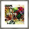 David Bowie Original Painting Print Framed Print
