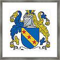 Dawson Coat Of Arms Londonderry Ireland Framed Print