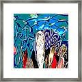 Dean Abstract Framed Print