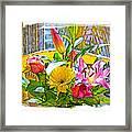 December Flowers Framed Print by Chuck Staley