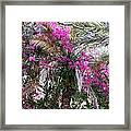 Decorated Palm Framed Print