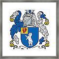 Dehany Coat Of Arms Irish Framed Print