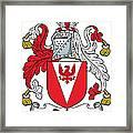 Delap Coat Of Arms Irish Framed Print