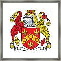 Dennis Coat Of Arms Irish Framed Print