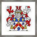 Dermond Coat Of Arms Irish Framed Print