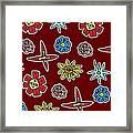 Desert Floral Framed Print