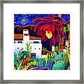 Desert Night Music Framed Print