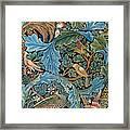 Design For Tapestry Framed Print