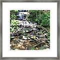 Desoto Falls Framed Print