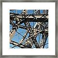 Detail Of Ferris Wheel At Vienna Prater Framed Print