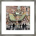 Detail Resurrection Church Framed Print
