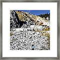 Devils Thumb - Yellowstone Framed Print