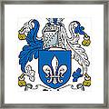 Digby Coat Of Arms Irish Framed Print