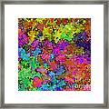 Digiral Abstract Colors Rich Framed Print