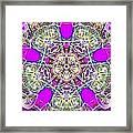 Dimensional Crossover Framed Print