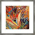 Diptych The Moments Of Love Part I Framed Print by Elena Kotliarker