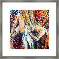 Dirty Dance Framed Print
