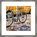 Ditchin' The Taxi To Ride Framed Print