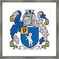 Doheny Coat Of Arms Irish Framed Print
