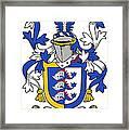 Dolphyn Coat Of Arms Irish Framed Print