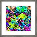 Dont Fall On The Road 3d Abstract I Framed Print
