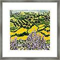 Down The Hill Framed Print