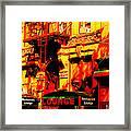 Downtown Heatwave  Framed Print