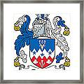 Dowse Coat Of Arms Irish Framed Print