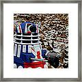 Dr Who - Forest Dalek Framed Print