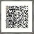 Dragon And The 8 Framed Print