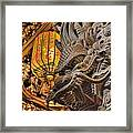 Dragon Framed Print by Karen Walzer