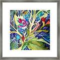 Dream Foliage Framed Print