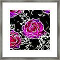 Dream With Roses Framed Print