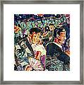Dreamstreet Dancers Framed Print