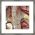 Driftwood Sketch Framed Print