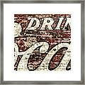 Drink Coca-cola 2 Framed Print by Scott Norris
